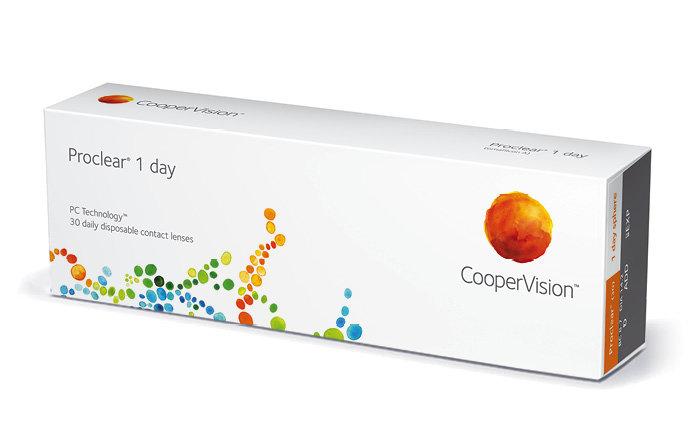 Cooper Vision Proclear 1 Day (30 čoček) Dioptrie -1,75, Zakřivení 8.7
