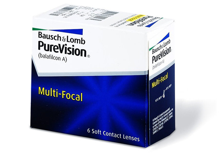 Bausch & Lomb PureVision Multi-focal (6 čoček) Dioptrie -0,75, Adice nízká, Zakřivení 8.6