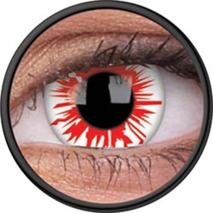 maxvue vision ColourVue Crazy čočky - Flashfire (2 ks roční) - nedioptrické