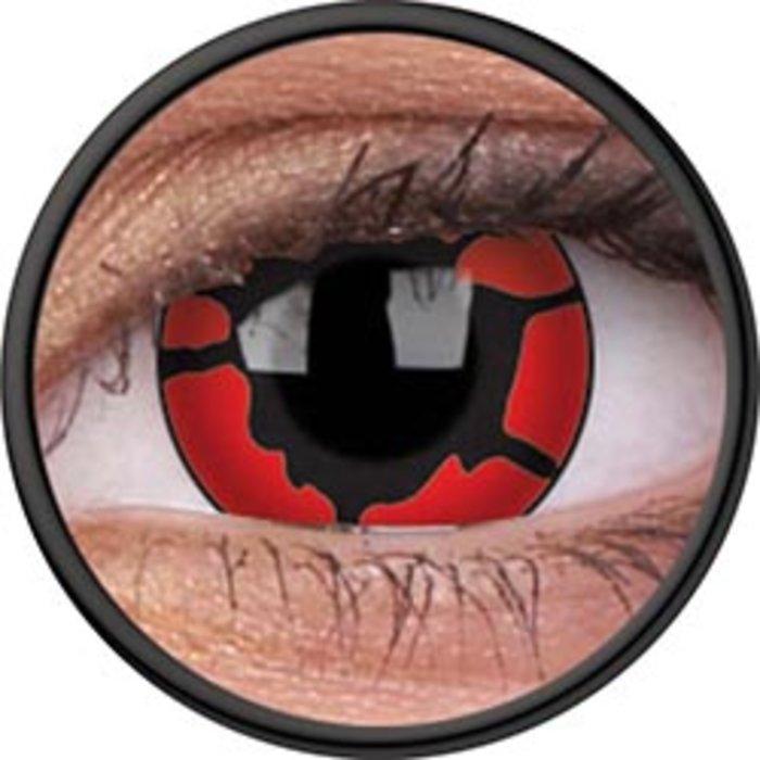 maxvue vision ColourVue Crazy čočky - Nightcrawler (2 ks roční) - nedioptrické
