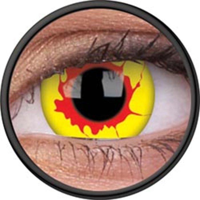 maxvue vision ColourVue Crazy čočky - Reignfire (2 ks roční) - nedioptrické