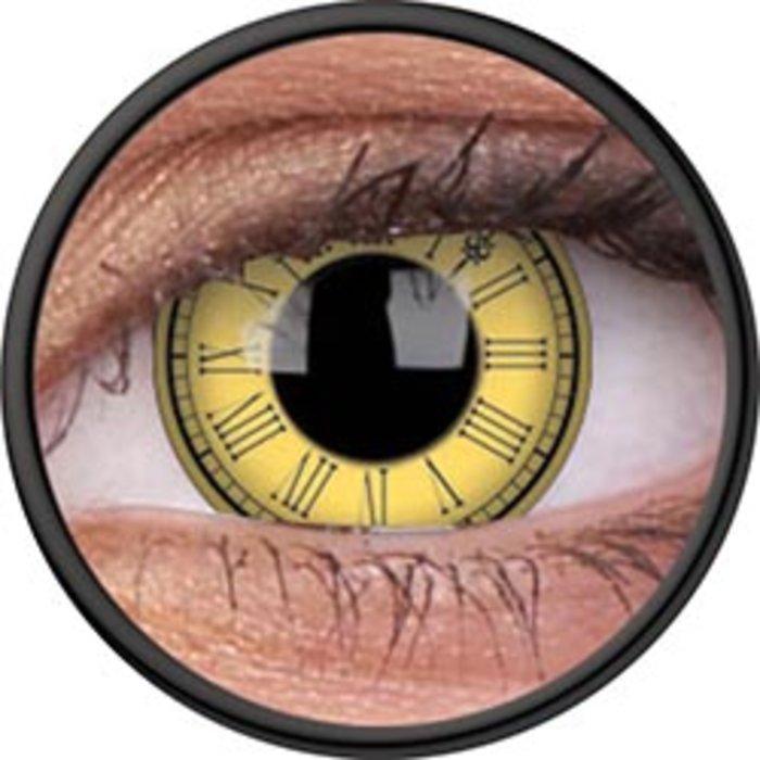 maxvue vision ColourVue Crazy čočky - Timekeeper (2 ks roční) - nedioptrické