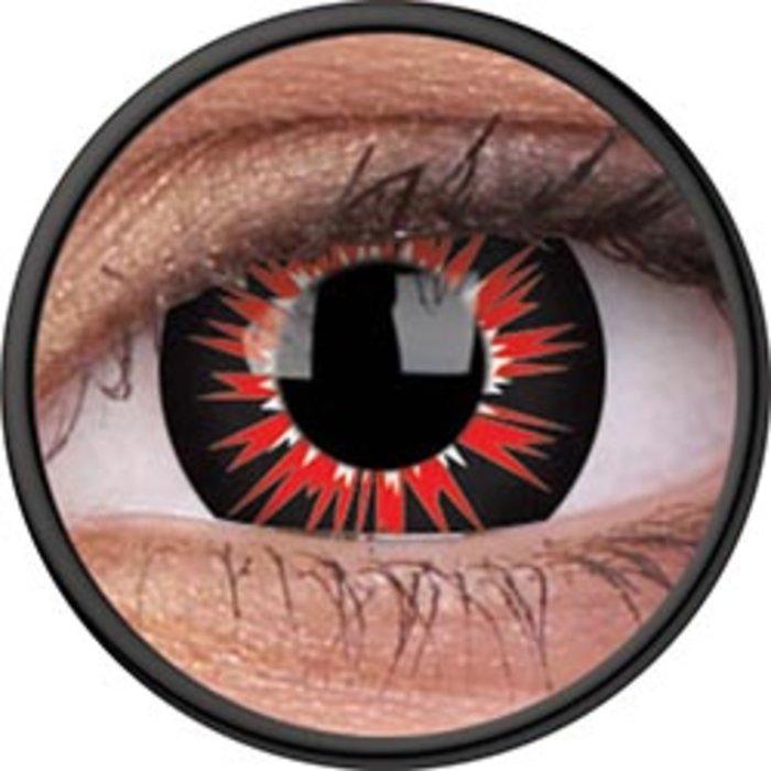 maxvue vision ColourVue Crazy čočky - Vorms (2 ks roční) - nedioptrické