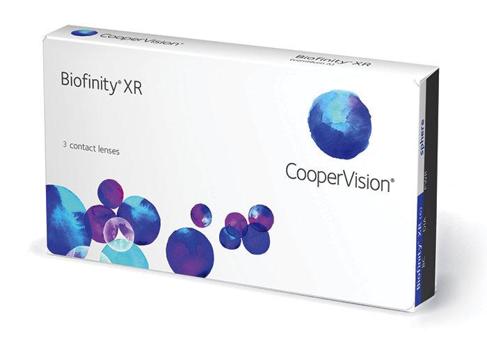 Cooper Vision Biofinity XR (3 čočky) Dioptrie -20,00, Zakřivení 8.6