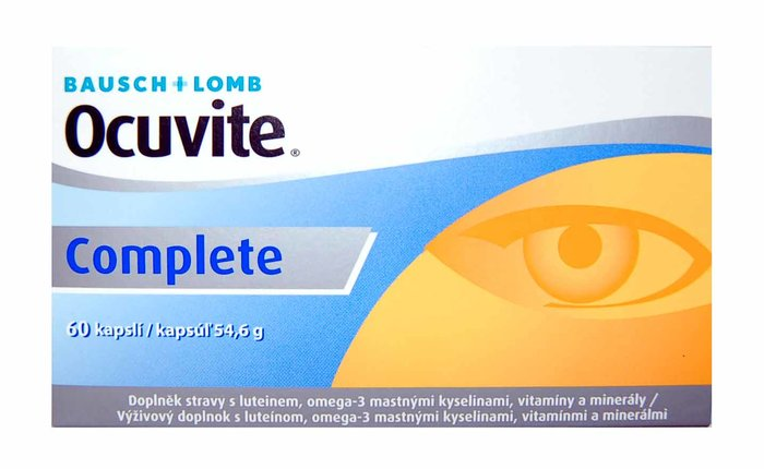 Bausch & Lomb Ocuvite Complete 60 tablet- exp.06/2017