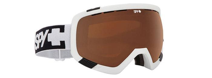 spy optic SPY Lyžařské brýle PLATOON - White / Bronze