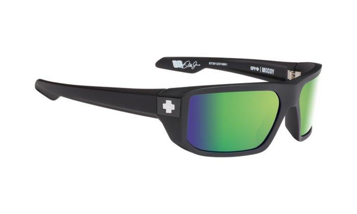 spy optic SPY Sluneční brýle McCoy Matte Black Green - Polarizační